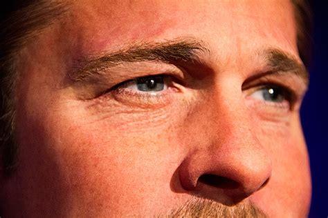 brad pitt eye color brad pitt