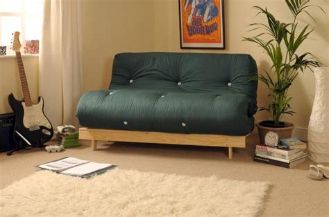 Luxury Futons by 4ft Luxury Futon 2 Seater Wooden Frame Sofa Bed