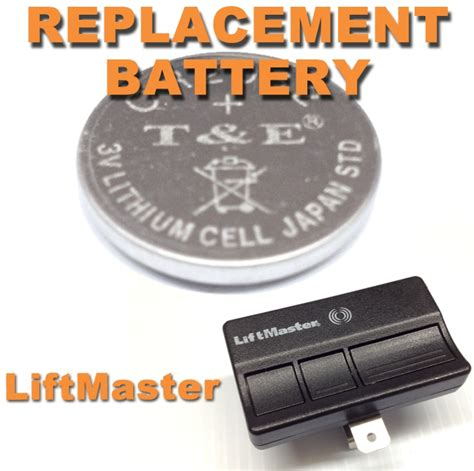 Garage Door Remote Battery New Liftmaster Garage Door Opener Remote Battery