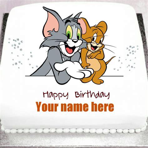 happy birthday tom images happy birthday tom and jerry cake www pixshark