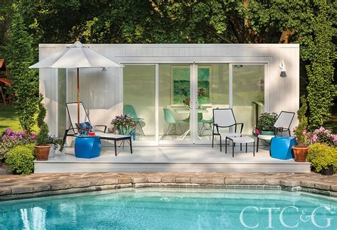 elbar pool houses from shipping how an industrial shipping container was transformed into a luxury pool house connecticut
