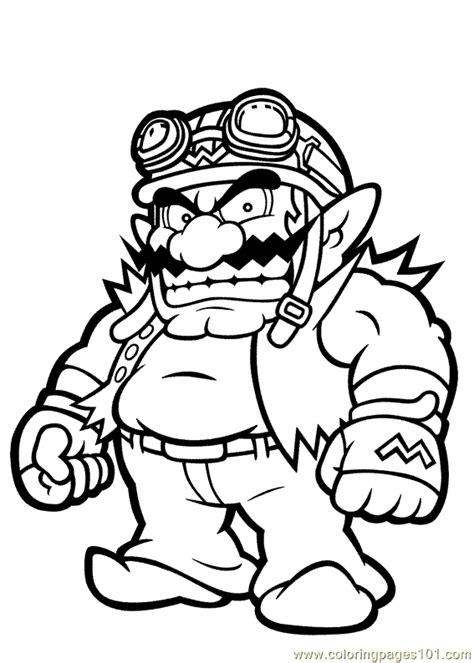 netconighsurf coloring pages mario characters