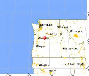 the dalles oregon or 97058 profile population maps