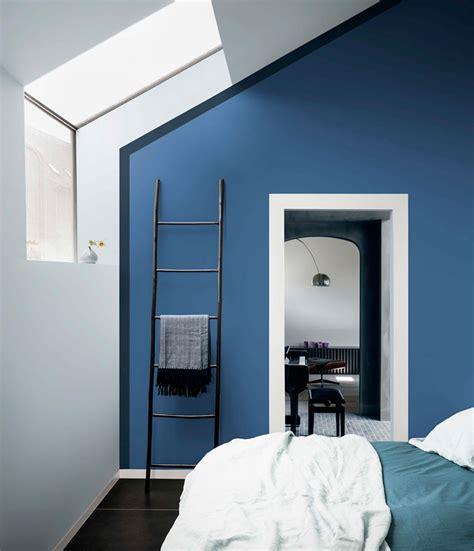 ide  kombinasi warna cat tembok biru langit