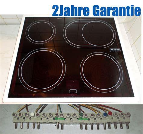 Glaskeramik Kochfeld Ceran by Miele Km 62 4 Kochfeld Mit Schott Ceran 174 Glaskeramik Wei 223