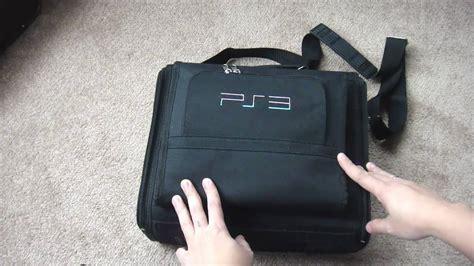 Travel Bag Tas For Ps3 Slim Superslim ps3 travel bag