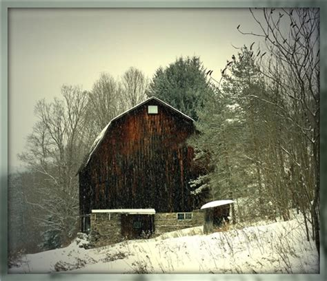 accuweather photo gallery snowy barn landscape image
