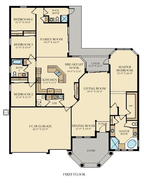 old lennar floor plans toscana new home plan in treviso bay classic homes by lennar