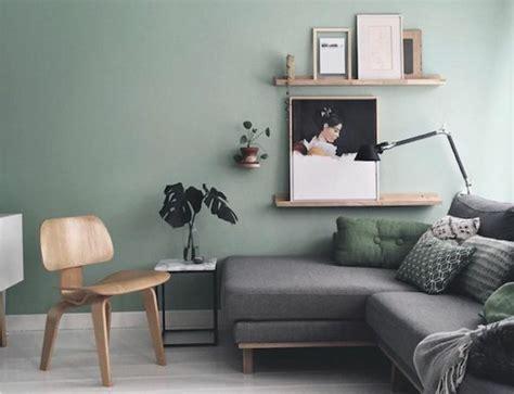Charmant Couleur Peinture Moderne Pour Salon #1: deco-salon-moderne-couleur-peinture-salon-vert-pastel-canapé-gris-lignes-épurées.jpg