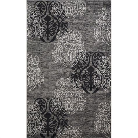 black and gray area rugs rugs rectangular area rug in grey and black rug mn28xx