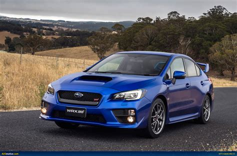 Ausmotive Com 187 My15 Subaru Wrx Sti Australian Pricing