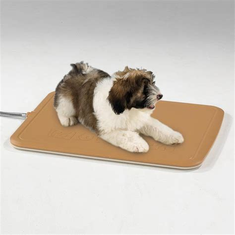puppy heat pad warming pad for indoor outdoor use keepdoggiesafe