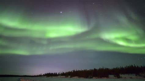 northern lights stock footage northern lights the frozen arctic fjord stock footage