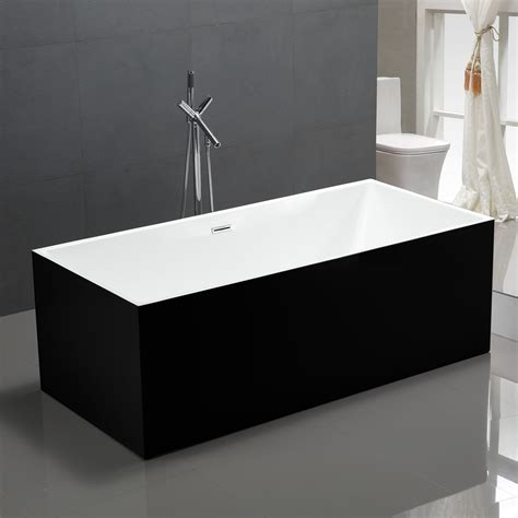 black bathtubs free standing bath tubs badeloft usa u003e bathtubs u003e