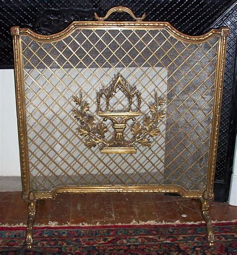 antique fireplace screens sale fireplace screens tools for sale antiques