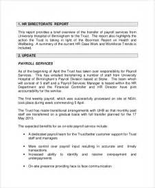 board meeting report template sle board report 5 documents in pdf
