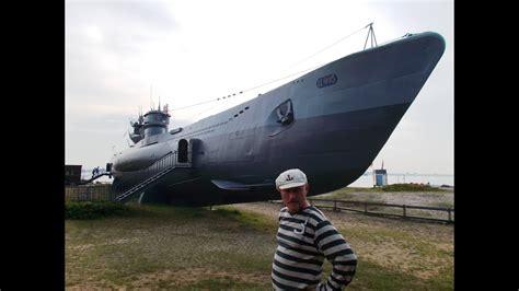 german u boat zello german ww2 submarine u boot u995 outside touring youtube