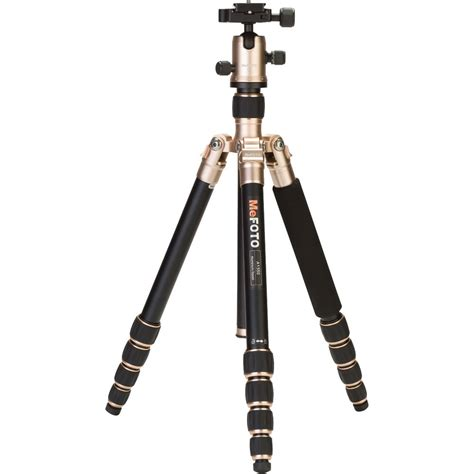 Tripod Mefoto mefoto roadtrip aluminum travel tripod kit gold a1350q1a b h