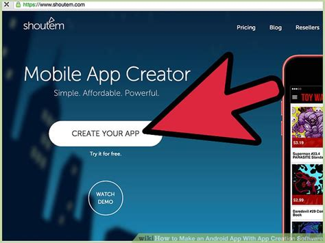 build android app how to make an android app with app creation software