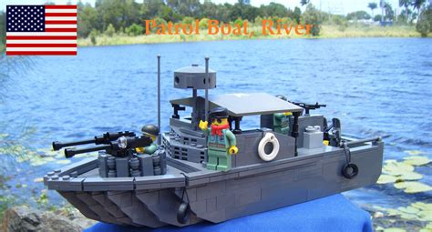 lego river boat vietnam war river patrol boat inspired by brickmania