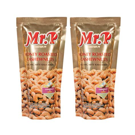 Mete Madu jual mr p madu kacang mete 80 g 2 pcs harga kualitas terjamin blibli