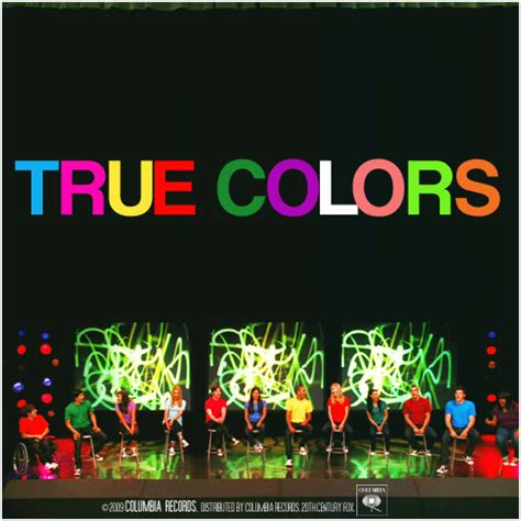 song true colors glee song covers