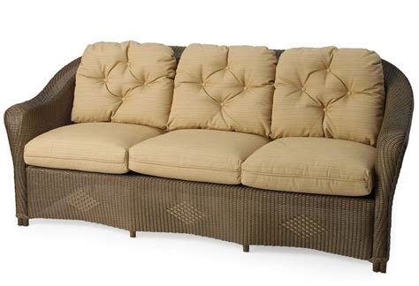 wicker sofa replacement cushions lloyd flanders reflections sofa replacement cushions
