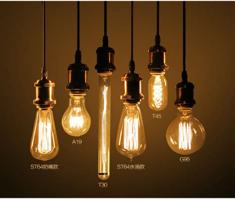 edison type light bulbs type edison g80 e27 4w led filament bulb for home