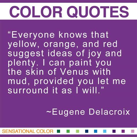 color purple quotes you and me will never part quotes about color by eugene delacroix sensational color