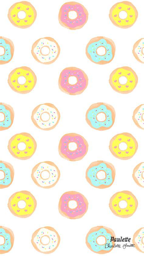 pastel donut pattern rainbow donut pattern iphone wallpaper panpins