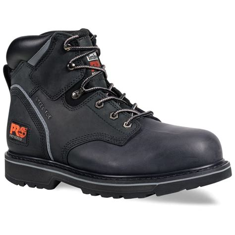 s timberland 174 pro 174 6 quot grain steel toe pit