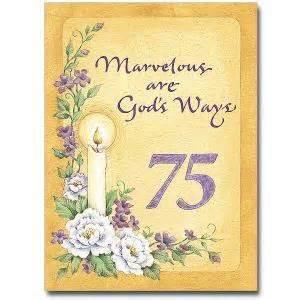 75th religious profession anniversary card ca5185