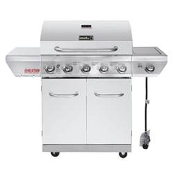 home depot gas grills nexgrill evolution 5 burner stainless steel gas grill with