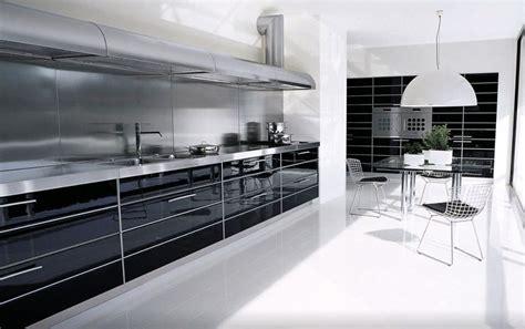 kitchen black and white kitchen island table industrial style luxury modern industrial gloss black white kitchen design