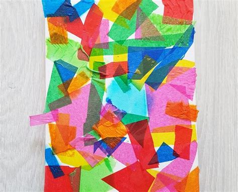 Tissue Paper Arts And Crafts - tissue paper gifts and toys