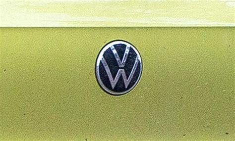 Volkswagen Logo 2020 by Neues Vw Logo 2019 Erstes Foto Update Autozeitung De