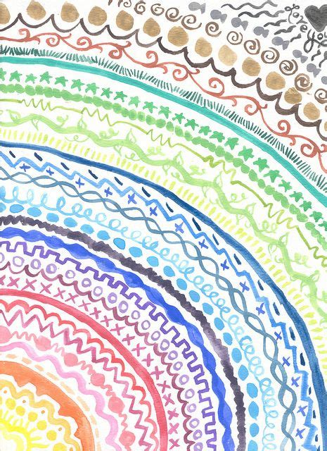 rainbow pattern doodle 3255 best images about art journal inspiration on