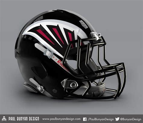 football helmet design nfl my take on nfl concept helmets atlanta falcons design
