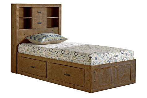 twin captains bed honey twin captains bed