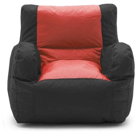Big Bean Bag Chairs Walmart big joe smartmax duo bean bag chair colors