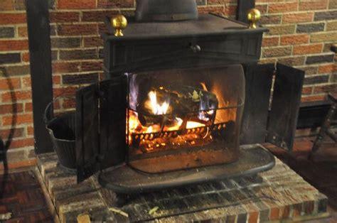 antique montgomery ward franklin cast iron wood burning