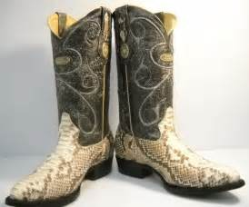 Mixing and matching snakeskin cowboy boots