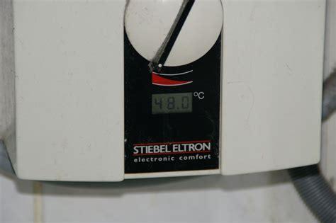 Was Ist Ein Durchlauferhitzer by Test Eines Durchlauferhitzers F 252 R Die K 252 Che Oder Des