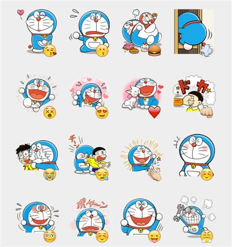 Wallpaper Doraemon Wallpapersticker Doraemon Stiker Doraemon doraemon stickers set telegram stickers