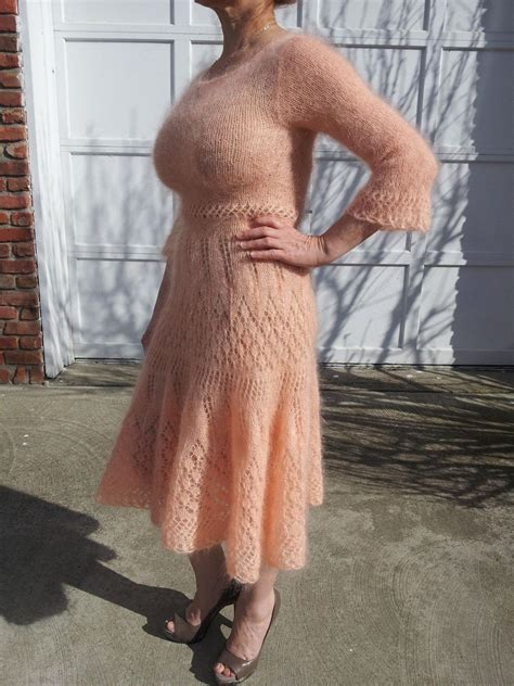 Dress With Cardy lovely mohair dress adding a cardy or a sweater jacket