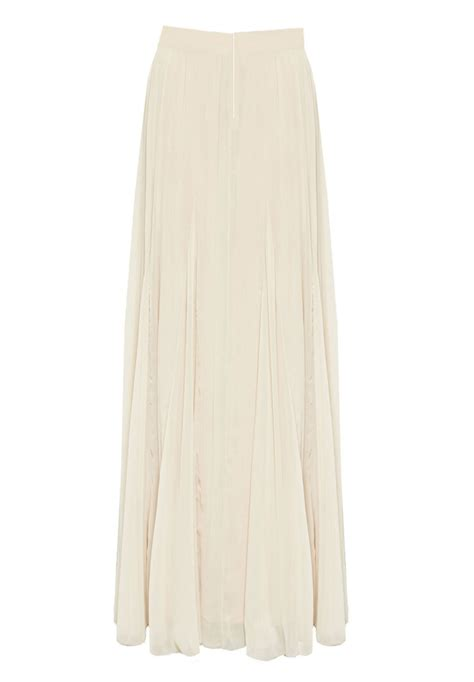 white flowing maxi chiffon skirt elizabeth s custom