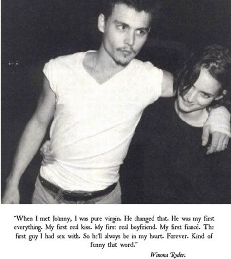 johnny depp winona ryder tattoo now famous tombs love in the 90s the white reviewthe white