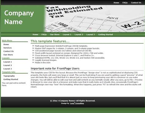 Accountant L Picture Accounting Website Templates Joomla Accounting Template