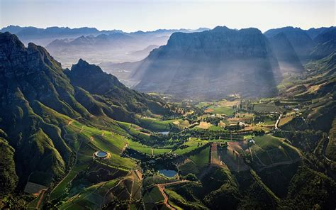wallpaper for walls south africa south africa mountains sun rays village wallpaper