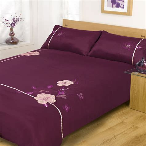 Aubergine Bedding Sets Aubergine Bedding Sets Heat Aubergine Bed In A Bag Bedding Set Ebay Zara Bedding Set In